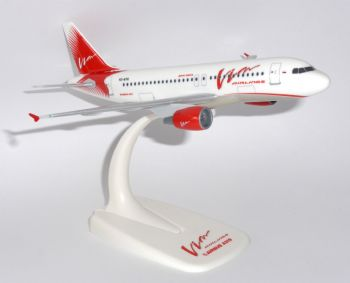 Airbus A319 VIM Airlines Russia Herpa Snap Fit Collectors Model Scale 1:200  E